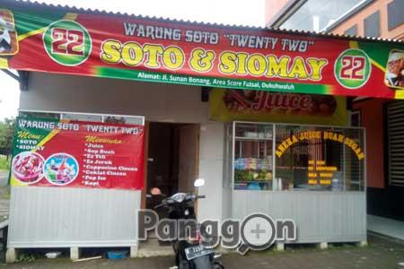 Warung Soto Twenty Two Dukuhwaluh Purwokerto