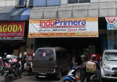 Toko IndoPrimera Pasar Wage Purwokerto