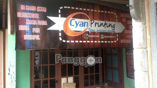 Percetakan CYAN Printing Bobosan Purwokerto